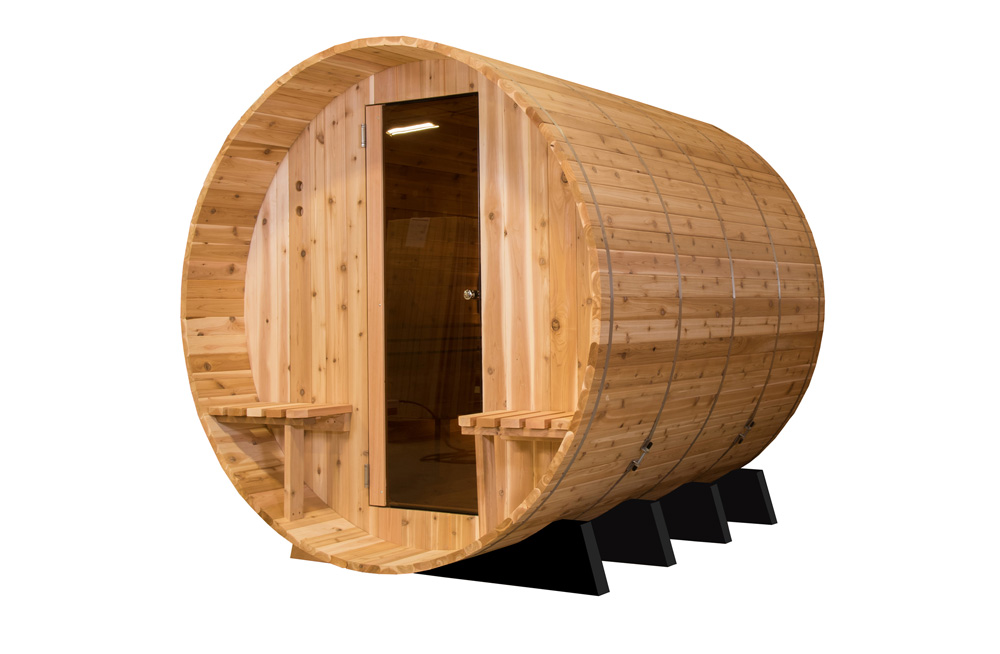 Vista tecnica sauna tradizionale MsPiscine