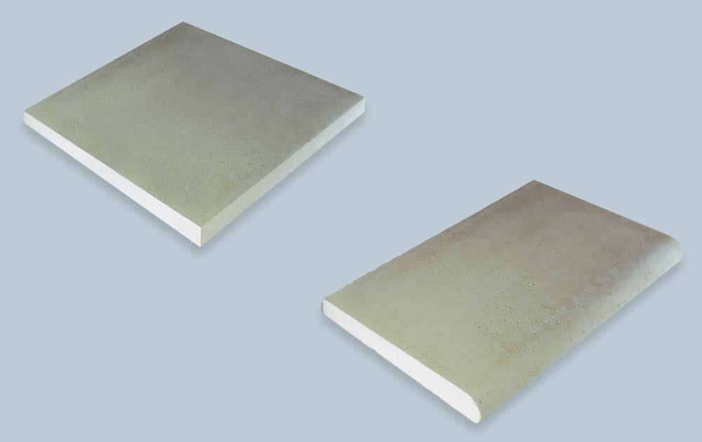 Vista tecnica bordi e pavimentazioni per piscina MsPiscine