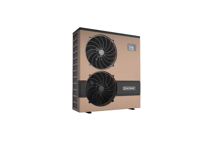 Vista tecnica pompa di calore per piscina MsPiscine