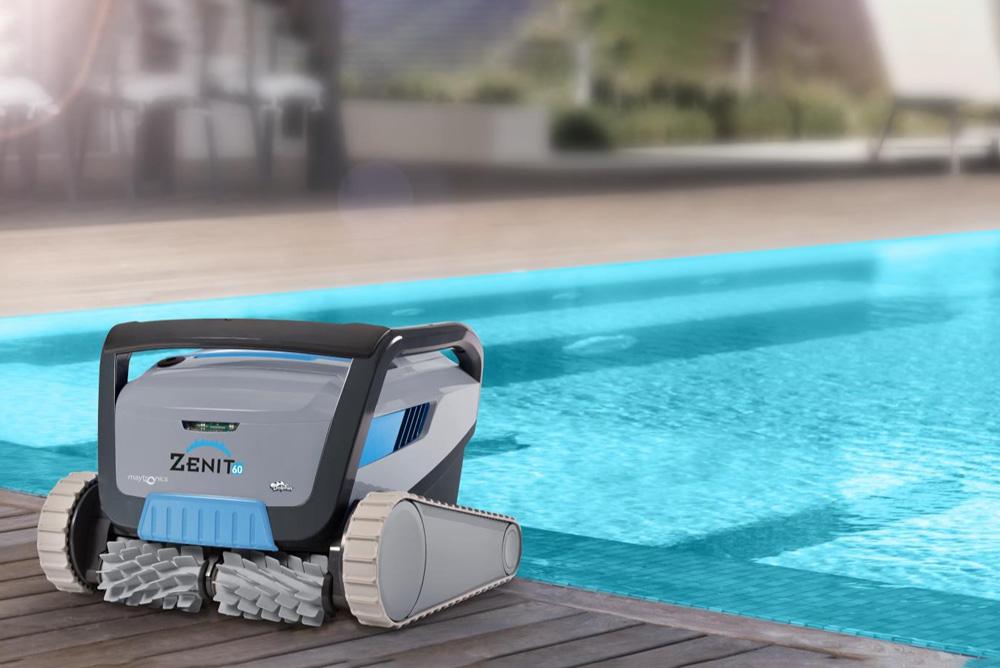 Vista tecnica robot per piscina MsPiscine